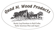 Quad M Wood Logo